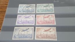 LOT 389513 TIMBRE DE FRANCE OBLITERE N°8 A 13 VALEUR 55 EUROS - Airmail