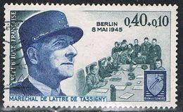 FRANCE : N° 1639 Oblitéré (Maréchal De Lattre De Tassigny) - PRIX FIXE - - France