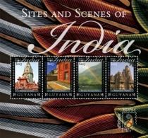 Guyana Sites And Scenes Of India  I201802 - Guyana (1966-...)
