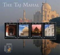 Guyana Sites And Scenes Of India Taj Mahal  I201802 - Guyana (1966-...)