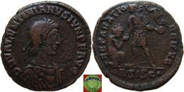 Roman Empire - AE2 Of Valentinian II (375-392 AD), REPARATIO REIPVB - 8. La Fin De L'Empire (363-476)