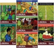 Liberia 2011 Back To Soil Rice Fruits I201802 - Liberia