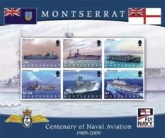 Montserrat 2009 CENTENARY OF NAVAL AVIATION I201802 - Montserrat