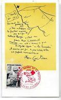 CPSM Cocteau JeanSaint Eyienne Croix Rouge Red Cross Non Circulé Saint Moritz - Cocteau