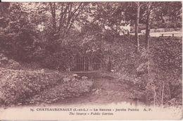 CPA - 34. CHATEAURENAULT  (I Et L)- La Source Jardin Public - France