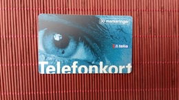 Phonecard Eye  Zweden Used Rare - Sweden