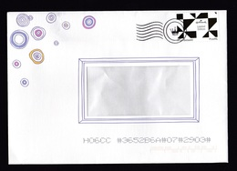 Netherlands: Cover, 2017, 1 Cinderella Stamp Postage Paid Issued By Dutch Post For Hallmark Company (rough Opened Back) - 2013-... (Willem-Alexander)