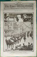 Newspaper London 08/08/1919 The Times Weekly Edition Illustrated Section - The King And Queen Drive To The Guildhall - Revues & Journaux