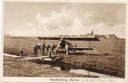 Noodlanding, Marken -Avion  (103236) - Non Classés