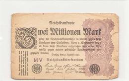 Allemagne Billet 2 Million Mark, 1923 - 2 Millionen Mark