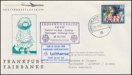 Erstflug Lufthansa LH 650/651 Frankfurt - Fairbanks/Alsaka, FRANKFURT 28.5.1964 - [7] West-Duitsland