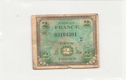 France Billet De 2 Francs , 1944 - Zonder Classificatie