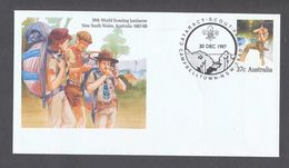 1987 Australia Commemorative Cover 16th World Scouting Jamboree New South Wales - Scouting