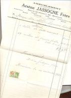 Boninnes Facture  1932 - Printing & Stationeries