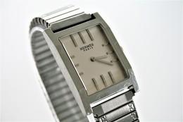 Watches : HERMES PARIS MEN TANDEM COLLECTOR ITEM  - 1980's - Original - Running - Excelent - Watches: Top-of-the-Line