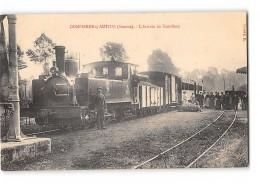 CPA 80 Dampierre Sur Authie La Gare Et Train Tramway - Frankreich
