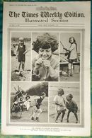 Newspaper London 05/09/1919 The Times Weekly Edition Illustrated Section - The Children Of England On Holiday - Sport - Revues & Journaux