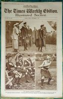 Newspaper London 12/09/1919 The Times Weekly Edition Illustrated Section/The Braemar Highland Gathering/Boxe/Cricket - Revues & Journaux