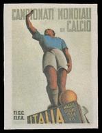 Erinnofilo - Italia Campionati Mondiali Di Calcio - 1934 (disegno Martinati) - Fußball-Weltmeisterschaft