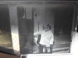 68 - Plaque De Verre -  Scène De Vie - Famille - Enfant - Glasplaten