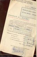 Bothey (gembloux)  Dommages De Guerre (pillage) 1944 - Belgique