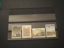 IRLANDA - 1985 ARTE E QUADRI 4 VALORI - NUOVI(++) - 1949-... Repubblica D'Irlanda