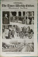 Newspaper London 03/10/1919 The Times Weekly Edition Illustrated Section - The Great Railway Strike - Sport - Fashion - Revues & Journaux