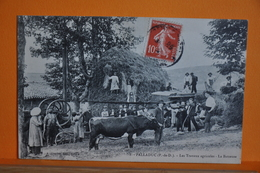 Palladuc - Les Travaux Agricoles - La Batteuse - France
