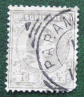 Koningin Wilhelmina 15 Ct NVPH 25 1892  Used / Gestempeld SURINAME / SURINAM - Surinam ... - 1975