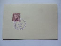 CZECHOSLOVAKIA - 1938 Postcard With Tag Der Befreiung Sonderstempel - Czechoslovakia