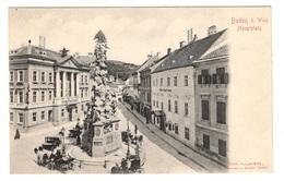 AUTRICHE - BADEN Bei WIEN Hautplatz, Pionnière - Baden Bei Wien