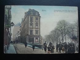 METZ : Rue Des JARDINS Et Quai Félix Maréchal Avant 1906 - Metz