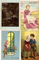 LOTTO 50 CARTOLINE AUGURALI - 5 - 99 Cartoline