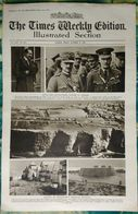 Newspaper London 31/10/1919 The Times Weekly Edition Illustrated Section - Royal And Distinguished Visitors - Boxe - Revues & Journaux