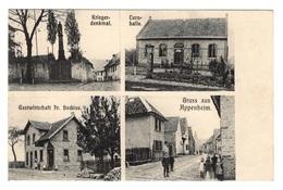 ALLEMAGNE - APPENHEIM Multivues Dont Café Fr. Bockius (voir Descriptif) - Allemagne