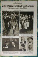 Newspaper London 07/11/1919 The Times Weekly Edition Illustrated Section - The Shah (of Persia) Arrives In England - Revues & Journaux