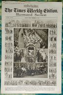 Newspaper London 14/11/1919 The Times Weekly Edition Illustrated Section - London's Peace On Lord Mayor's Day - Revues & Journaux