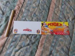 Carte Du Cirque Pinder Jean Richard En Route Pour La Tournée 2000 - Pubblicitari