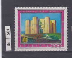 ITALIA REPUBBLICA, 1977Turismo Castel Del Monte Nuovo - 6. 1946-.. Repubblica