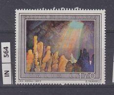 ITALIA REPUBBLICA, 1977Turismo Grotte Di Castellana Nuovo - 6. 1946-.. Repubblica