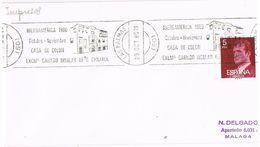 27795. Carta LAS PALMAS (Canarias) 1980. Casa De COLON - 1931-Today: 2nd Rep - ... Juan Carlos I
