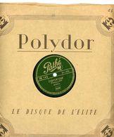 """78T  DISQUE PATHÉ (25 Cm) """"L'INVENTEUR"""" &  """"LA PLUME"""" PAR BOURVIL - 78 Rpm - Schellackplatten"""