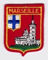 Ecusson Tissu - Marseille (13) - Basilique Notre-Dame De La Garde - Blason - Armoiries - Héraldique - Ecussons Tissu