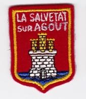Ecusson Tissu - La Salvetat-sur-Agout (34) - Blason - Armoiries - Héraldique - Blazoenen (textiel)