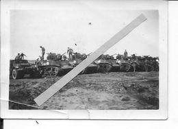 1944-1945 Chars 1ere Armée De Lattre  Chars M3 Stuart Dont Espagne Reconnaissance Losange Révolutionnaire 1 Photo Ww2 - War, Military