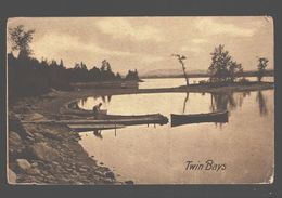 Lake Chaplain - Twin Bays - Champlain Series, Sheldon Ambertypes, Burlington, Vt. - 1909 - NY - New York