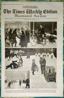 Newspaper London 21/11/1919 The Times Weekly Edition Illustrated Section - Winter's Early Arrival In Europe - Revues & Journaux