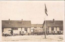 SISONNE CARTEPHOTO COLONNE CROIX ROUGE RED CROSS CAMIONS ETC 1251 /d4 Lazarett - Guerra 1914-18