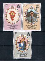 Kaimaninseln 1981 Charles/Diana Mi.Nr. 475/77 Kpl. Satz ** - Kaimaninseln