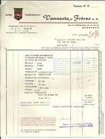 MOUSCRON  VANNESTE FRERES  OPEL CHEVROLET  1.12.1966 - Cars
